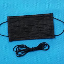 La fábrica de 3 mm de alta calidad de la cuerda elástica Earloop máscara, la soga, cinta elástica, Material Spandex
