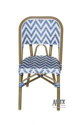 파리 의자 옥외 가구 대나무 보기 등나무 의자 대중음식점 가구