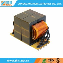 Ee30-42 de alta frecuencia tipo de Electrónica de Alta Tensión SMPS Transformador Flyback para equipos de comunicación 5g