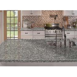 Grijs/Wit/Zwart Keuken Vanitytop/tafel/Countertop voor Hotel/Villa Project Paving Stone Tegels Mozaïek / Open haard