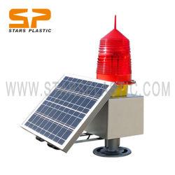 Les aéronefs de l'Aviation Navigation solaire LED clignotant grue Obstruction de la tour lanterne feux de détresse maritime de gyrophare