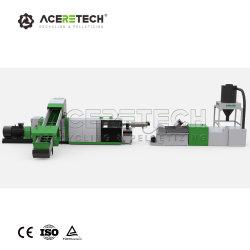 PE PP Film la granulation de recyclage du plastique Machine/Matériel de production de granules de plastique recyclé