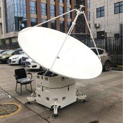 1,2 m de Banda C compensar Piscina grande antena parabólica de satélites GPS