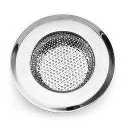 Utensílios de cozinha de aço inoxidável pia de cozinha piso filtrador drene evitar entupimento