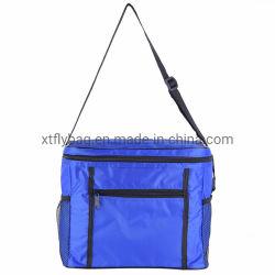 il sacchetto del di alluminio del sacchetto del dispositivo di raffreddamento del ghiaccio del poliestere 420d può dispositivo di raffreddamento per il sacchetto isolato termico del pranzo della birra per il campeggio ed il banco