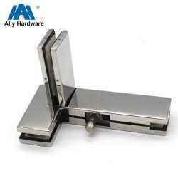 Vetro di vetro del hardware a vetro che fa scorrere il montaggio della zona dell'acciaio inossidabile