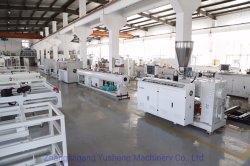 Suministro de agua de PVC por extrusión de tubería de PVC de la línea de producción la producción de extrusión de tubos de plástico