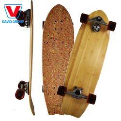 Costom Rodillo Mate de madera de bambú Set de skate Super Cruiser