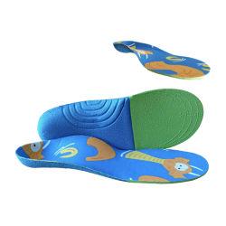 El patrón de caricatura Diseño de Logotipo imprimir material EVA Niños Niños Calzado Suela anti olor Pad para Flat