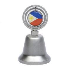 Venda por grosso de ferro fundido personalizado de casamento tibetano de latão Prata metálico Loja Cow Bell