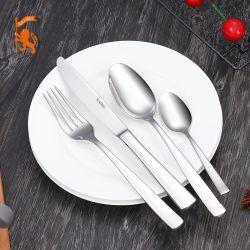 Chinese Groothandel klassieke roestvrij stalen serviesgoed roestvrijstalen mesvork Spoon voor hotel/restaurant/thuis/cadeau met FDA/LFGB/SGS/EU-certificering
