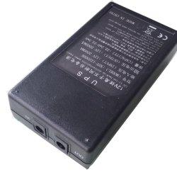 Mini-UPS móvel portátil Banco de alimentação 12VDC 2A 2000mAh para CCTV de LED de controle de acesso à máquina de presenças
