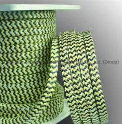 PTFE grafite em fibra de aramida Kevlar Embalagem embalagem trançada para Bomba