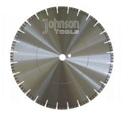 Lama per sega a laser diamantata Od400mm con segmenti Turbo per Calcestruzzo a taglio rapido