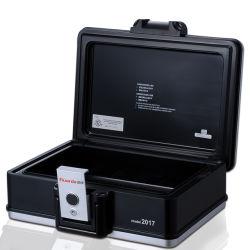 Caja fuerte ignífuga proteger CD/DVD/HDD del fuego y agua