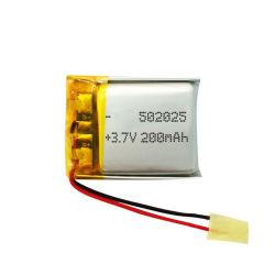 200mAh 3.7V Kc Li-Polymeer Batterij voor GPS Drijver