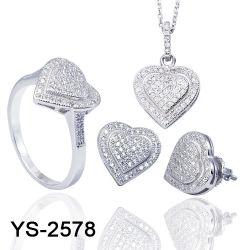 Neue Sterlingsilber stellten der Form-Schmucksache-925 oder Messing-Diamant-Schmucksachen für Verkauf ein
