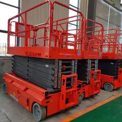 Elektrische Zwei Personen Lager Scherenaufzug Aufzug Plattform