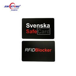De aangepaste Kaart van het Schild van de Beschermer RFID van de Creditcard Blokkerende