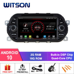 Witson Quad-Core Android 10 Alquiler de DVD GPS para Fiat Eaga nuevo 2G 16g vehículo Multimedia