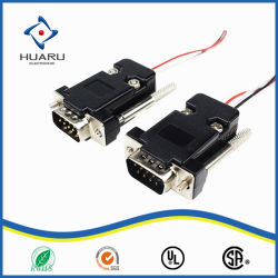 Het Mannetje van uitstekende kwaliteit aan Mannelijke VGA Kabel voor Projectoren/Hdtvs/Vertoningen