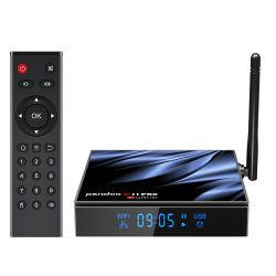 Pendoo X11 PRO H616 원격 제어 앱 4K 플래시 Ultra HD 컨버터 OTT 스트리밍 스마트 셋톱이란 128GB Android 박스 TV