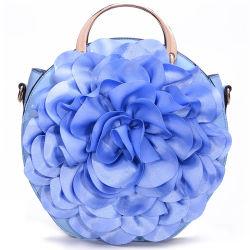 Nueva ronda de noche baratos de la bolsa de hombro de flor en el bolso