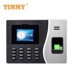 TM20 Software Cloud Computing empleado biométrico de huellas dactilares tarjeta RFID tiempo asistencia