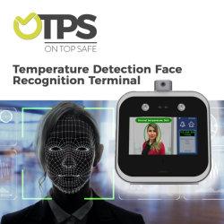 A temperatura corporal Otps Controlador de Acesso de infravermelhos com termómetro de testa de infravermelhos e reconhecimento de faces
