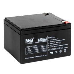 12V12ah 12V Bateria solar Banco de alimentação recarregável armazenamento AGM ácido de chumbo selado Maintenance-Free Bateria UPS