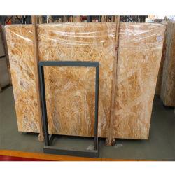 Polimento alto Amarelo/Gold/Goldeng/bege/Branco/Ônix Travertinos/Mármore Laje de parede de azulejos/Flooring/cozinha/banheiro/bancada