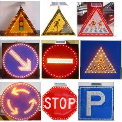 제조 표지판 공급 LED 라이트 교통 도로