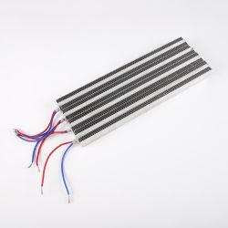 PTCのファンヒーターの一定した温度ファンが付いている産業400W 220V AC定温器のエアー・ヒーター