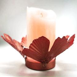 أسلوب [نورديك] [هندمد] معدن ثبت [كندل هولدر] زخرفة شمعدان لأنّ زخارف بينيّة