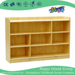 Registro escolar Armário para armazenamento de brinquedos de madeira (HJ-4107)