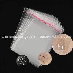 De aangepaste Zak 3bf6-13 van de Verbinding van de Verpakking OPP Plastic Zelfklevende Duidelijke Transparante