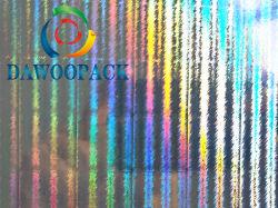 Feuille de Film holographique Pet 16micron 23micron 50um