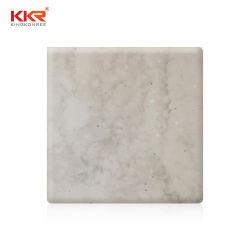 الشركة المصنعة Epoxy Resin Stone الرخام الصناعي الجرانيت أكريليك سطح صلب سطح الموازنة