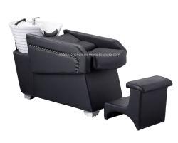 熱い販売の背部洗浄の単位のWsahの椅子の大広間の家具の美のヘアーサロンのシャンプーのベッド