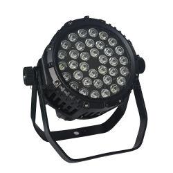 Водонепроницаемый светодиодный PAR лампа Can 36ПК RGBW этапе лампа 3 Вт