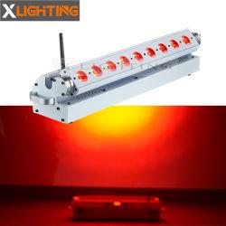Neues 9PCS drahtloses Wand-Unterlegscheibe-Licht der Batterie-LED RGB