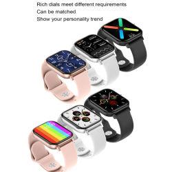 携帯用スマートフォンのバンド心拍数血圧の方法スマート メンズおよびウィメンズシリコンバンドを見る