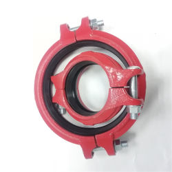 Professional tuyau standard de fonte ductile rainuré accouplements