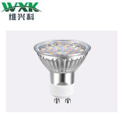 GU10 G4 G9 LED 스팟 전구 40W 할로겐 램프, 420lm, 3000K, AC220-240V, Flicker GU10 스팟 램프에 상응하는 4W 전구