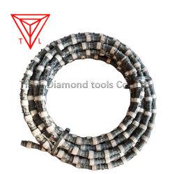 중국 공장 다이아몬드 밧줄 철사는 채석장 광업 대리석 화강암 Moorstone 사암 Andsite 석회석을%s 보았다