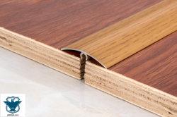 광택 산화 알루미늄 카펫/목재 타일 바닥 모서리 트림 프로필