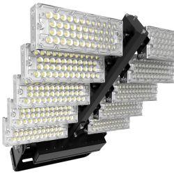 A luz de LED 960W 1200W iluminação LED de marcação RoHS TUV ETL Holofote LED 1200W Stadium 1200W Modular de Luzes de Farol LED 20/40/60/90 graus LED lentes ópticas