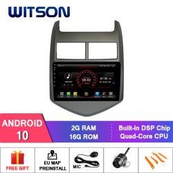 GPS van de Speler van 10 Auto DVD van Witson Androïde voor Chevrolet Aveo 2010-2015