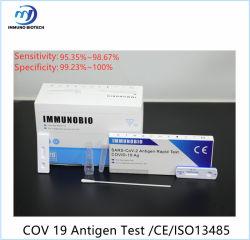 Катушка 19 Antigen Тест/Antigen Быстрый тест/медицинским комплектом/Быстрая проверка /диагностического слюны и носовой тампон проверки