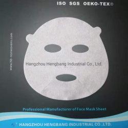 preço de fábrica Nonwoven Fabric Die-Cut Face Facial Mask Sheet (cuidado com a pele)